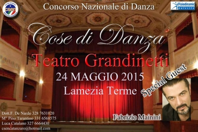 Diretta Video Streaming Cose di Danza Teatro Grandinetti Lamezia T. CZ 24_05_2015