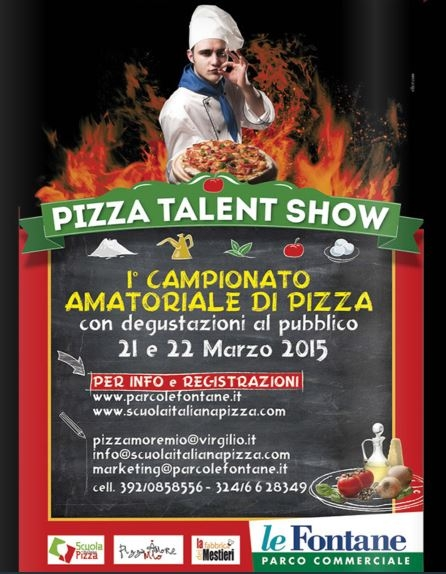 Pizza Talent Show 22 Marzo 2015