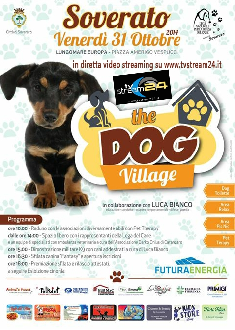 In diretta da Soverato The Dog Village