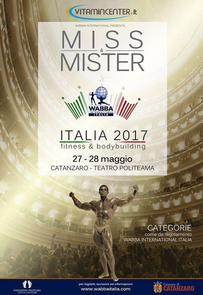 Miss e Mister Italia Wabba International 2017
