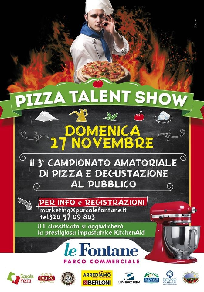 Pizza Talent Show 27 11 2016