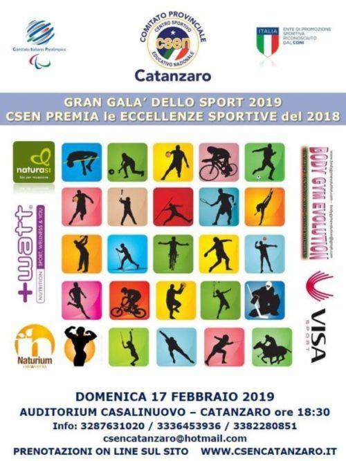 Gran Gala' dello Sport 2019