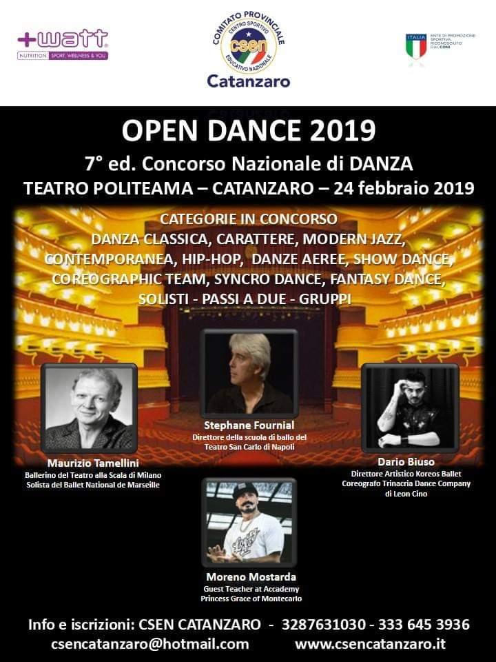 Open Dance 2019