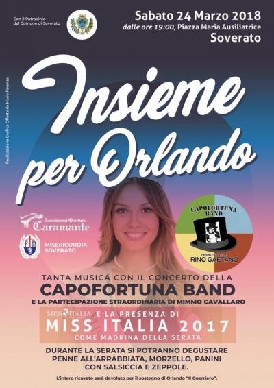 Insieme per Orlando 24 marzo 2018 Diretta Video