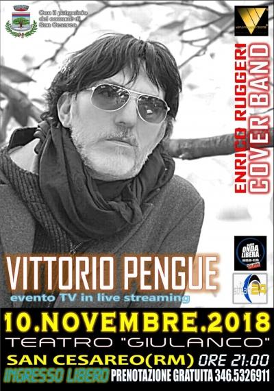 Vittorio Pengue Cover Band Enrico Ruggeri 10 11 2018